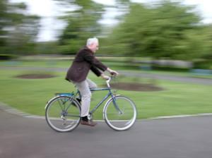 Auch Radfahrer müssen sich an eine Promillegrenze halten.