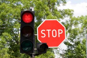 Die rote Ampel gilt für alle Verkehrsteilnehmer.