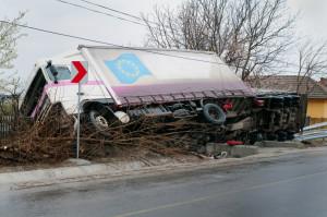 Die Überladung beim Lkw ist besonders gefährlich.
