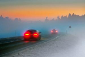 Schlechte Wetterbedingungen können einen Massenunfall begünstigen.