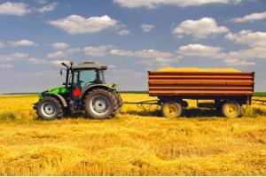 Mit dem Traktor sind Unfälle oft schwerwiegend.