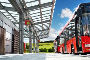 Kommt es mit dem Bus zu einem Unfall, gelten die gleichen Vorschriften wie bei anderen Unfällen auch.