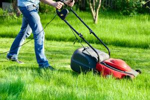 Wann liegt eine ordnungswidrige Lärmbelästigung durch einen Rasenmäher vor?